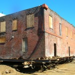 Old Brick Store - Moving Historical Buildings